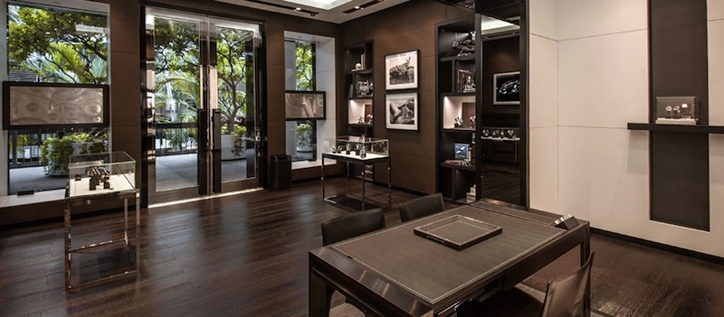 IWC Boutique Miami Interior