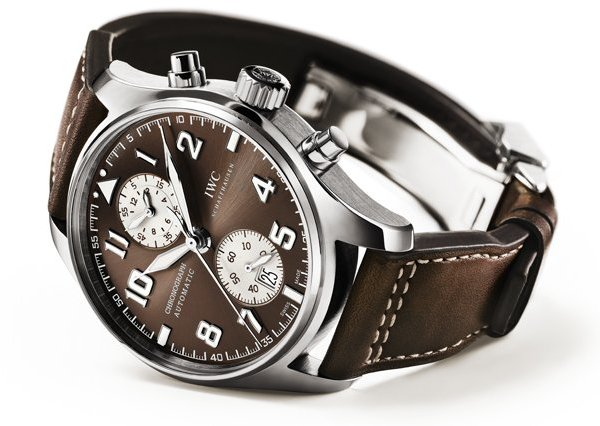 IWC Pilot's Watch Chronograph Edition Antoine de Saint Exupéry Stainless Steel