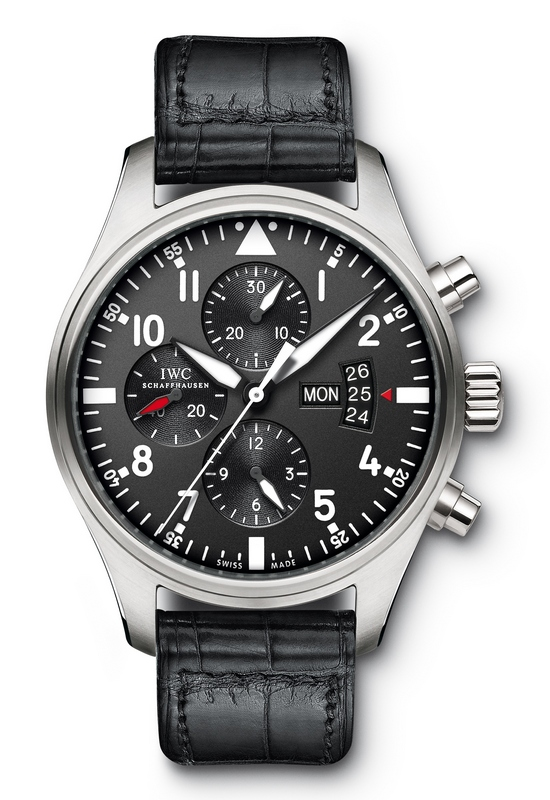 IWC Pilot's Chronograph Watch IW377701