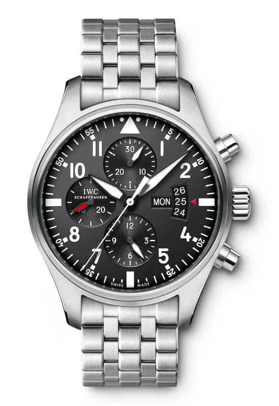 IWC Pilot's Chronograph Watch IW377704