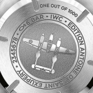 "IWC Pilot's Watch Double Chronograph Edition ""Antoine de Saint Exupéry"" - Case Back"