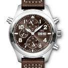 "IWC Pilot's Watch Double Chronograph Edition ""Antoine de Saint Exupéry"" - Front"