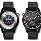 IWC Pilot's Double Chronograph Edition TOP GUN Watch Back and Front