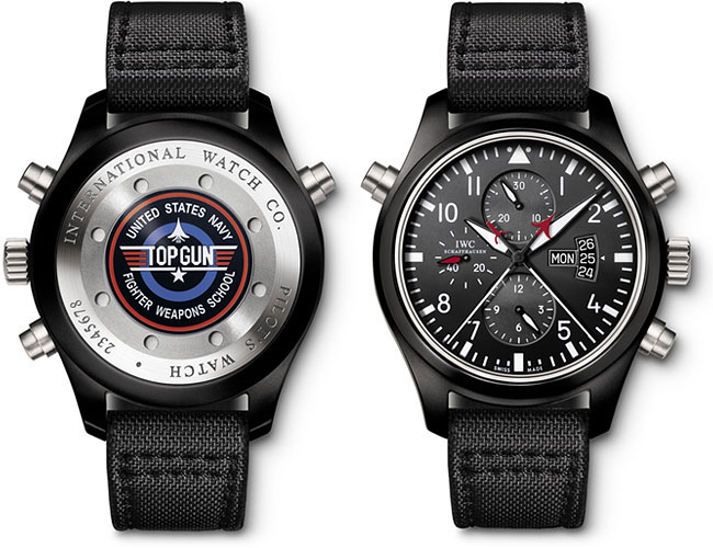 iwc pilot s watch double chronograph edition top gun watch review. Black Bedroom Furniture Sets. Home Design Ideas