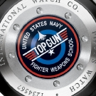 IWC Pilots Watch Double Chronograph Edition Top Gun Caseback