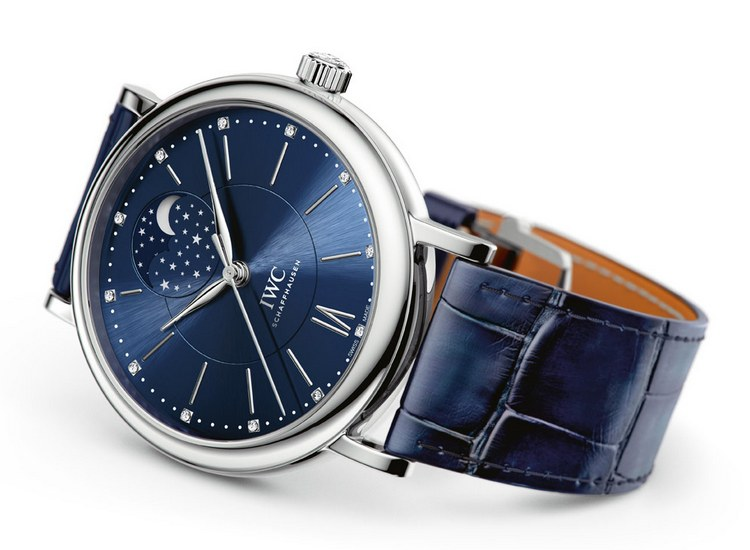 IWC Portofino Automatic Moon Phase 37 Edition Laureus Watch