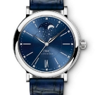 IWC Portofino Automatic Moon Phase 37 Edition Laureus Watch Front