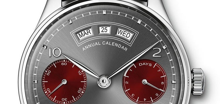 "IWC Portugieser Annual Calendar Edition ""Tribeca Film Festival 2016"" Watch Dial"
