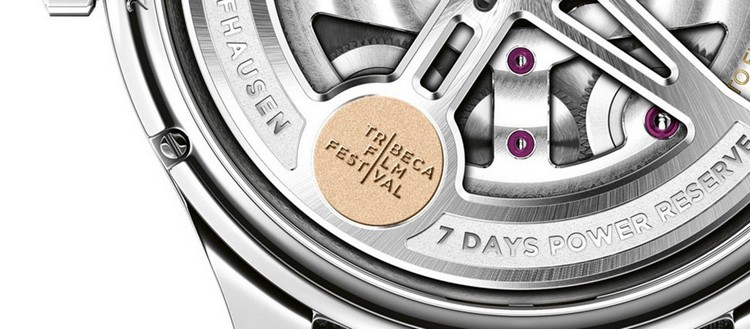 "IWC Portugieser Annual Calendar Edition ""Tribeca Film Festival 2016"" Watch Logo"