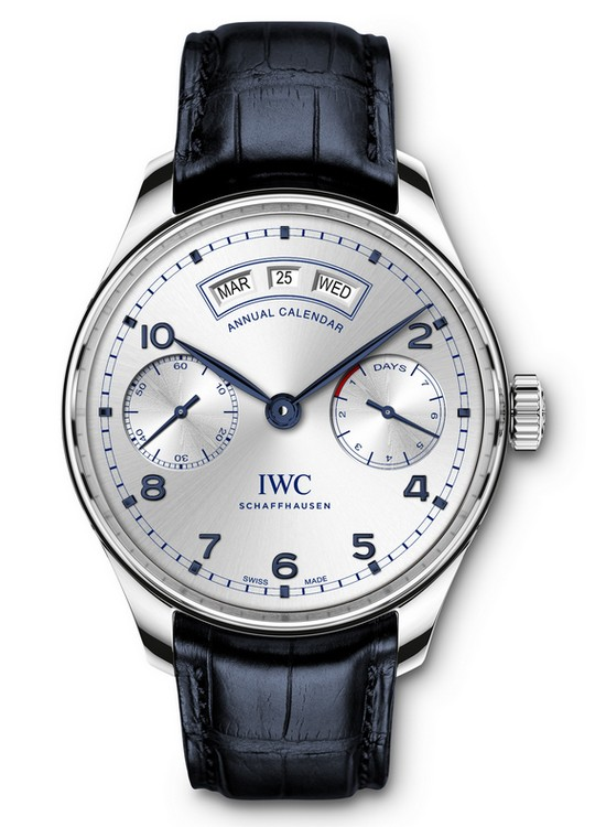 IWC Portugieser Annual Calendar Unique Edition BFI London Film Festival 2015 Watch