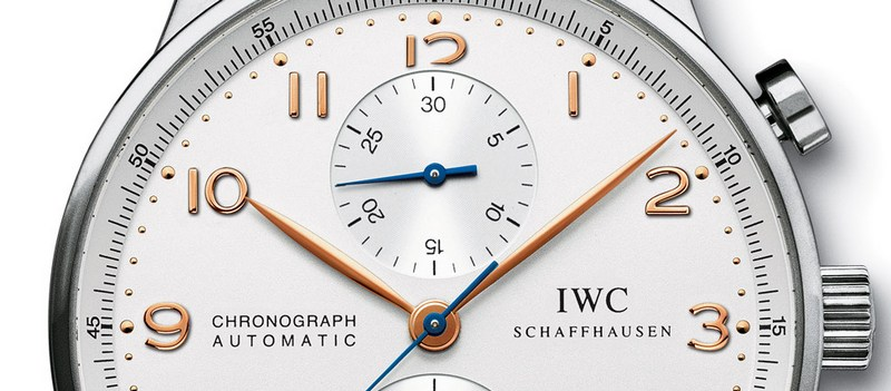 IWC Portuguese Chronograph Watch