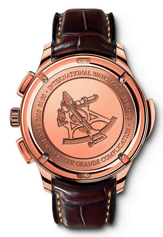 IWC Portuguese Grande Complication Watch IW377402 Caseback