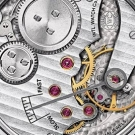 IWC Portuguese Hand-Wound Watch Back