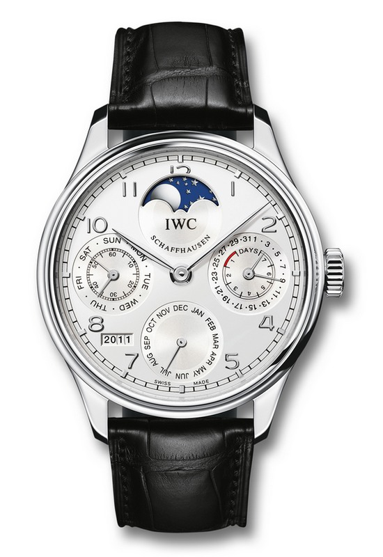 iwc portuguese perpetual calendar watch watch review