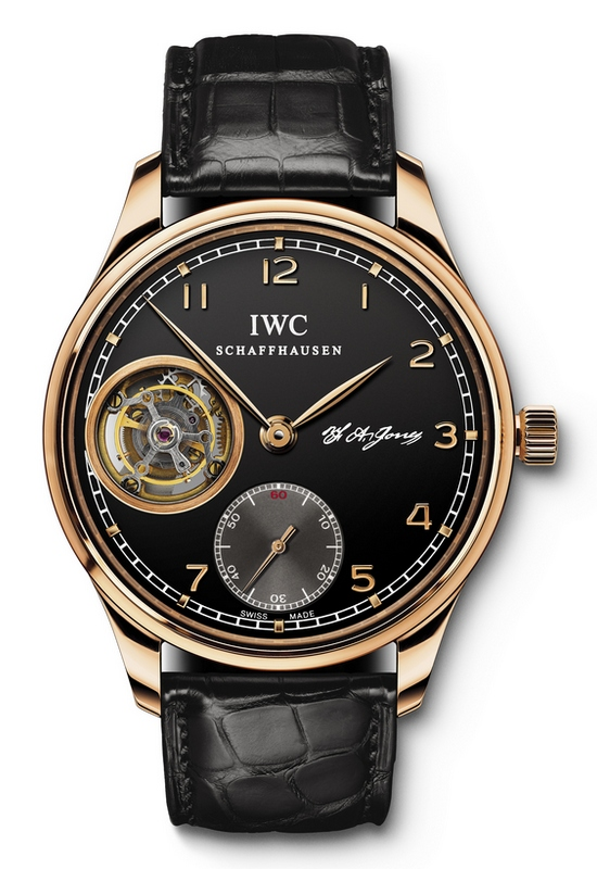 IWC Portuguese Tourbillon Hand-Wound Watch IW544705