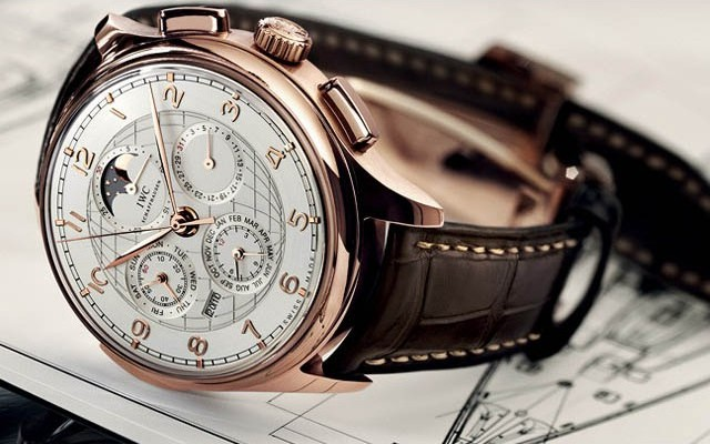 IWC Schaffhausen Portuguese Grande Complication Watch IW377402