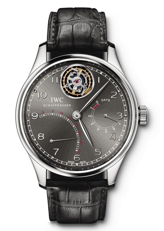 IWC Schaffhausen Portuguese Tourbillon Mystere Retrograde Watch IW5004401