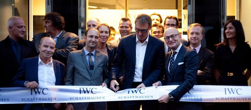 New IWC Boutique in Paris Opening