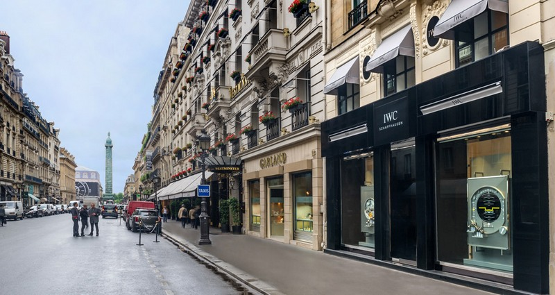 New IWC Boutique in Paris