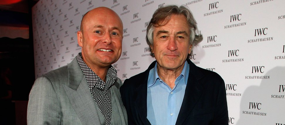 Georges Kern and Robert De Niro