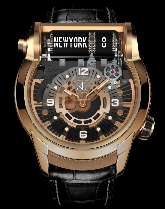 Jacob & Co Launched new Epic SF 24 GMT Gold Watch