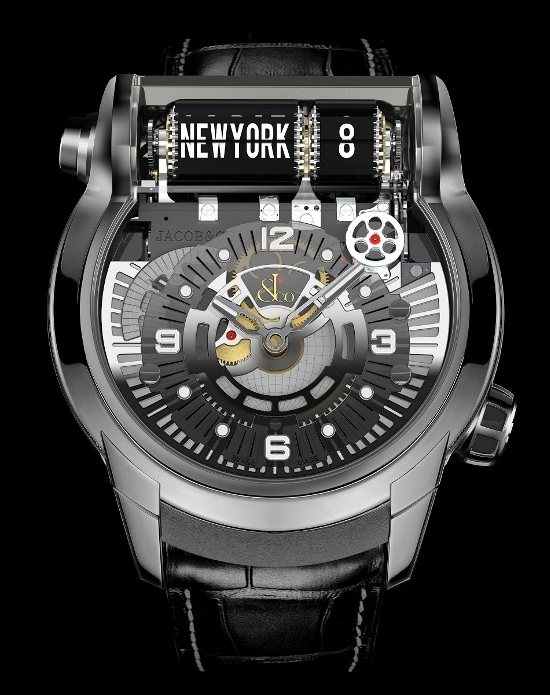 Jacob & Co Launched new Epic SF 24 GMT Titanium Watch