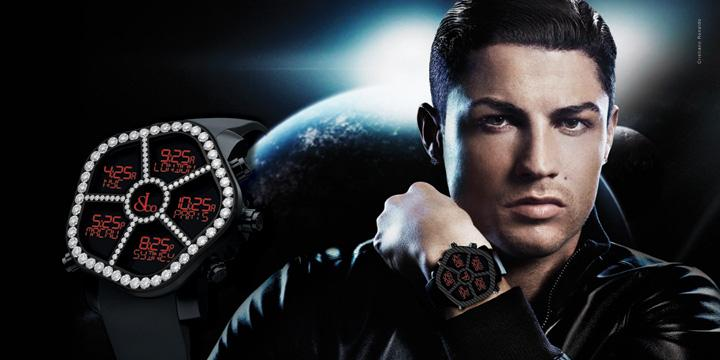 Jacob & Co Ghost GPS Watch Cristiano Ronaldo