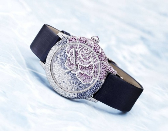 Jaeger-LeCoultre Rendez Vous Art Joaillerie Blue Sapphires and Rubies Watch