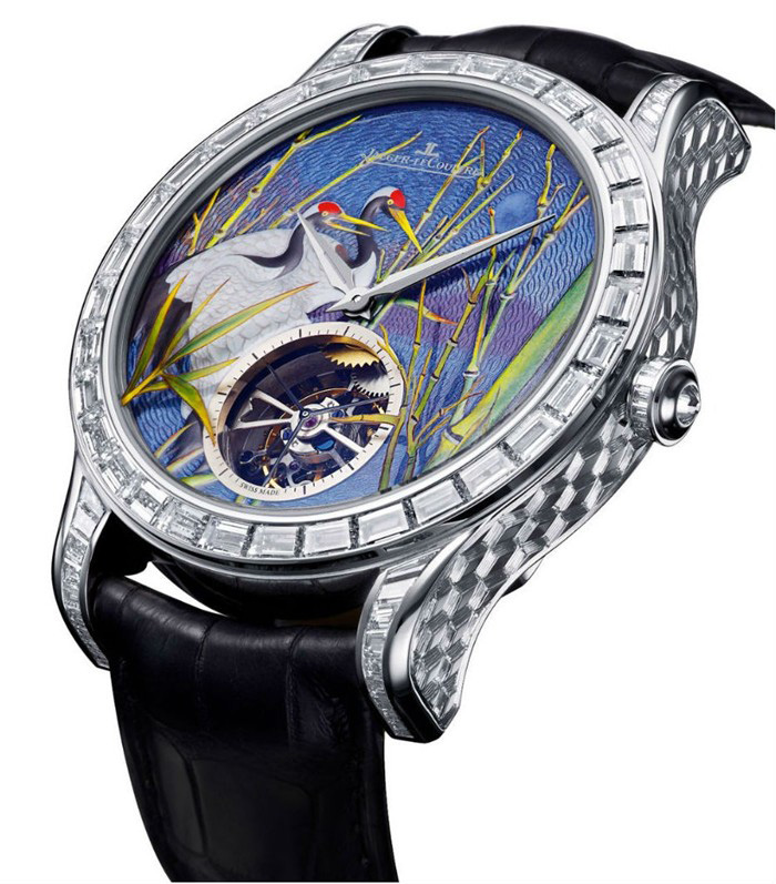 Jaeger-LeCoultre Master Grand Tourbillon Enamel Watch
