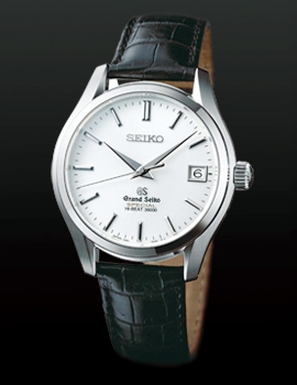 Grand Seiko Hi-Beat 3600 Watch White Gold