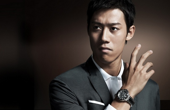 Kei Nishikori the Newest Tag Heuer's Ambassador