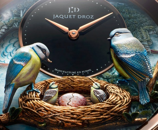 Jaquet Droz Bird Repeater Watch Dial