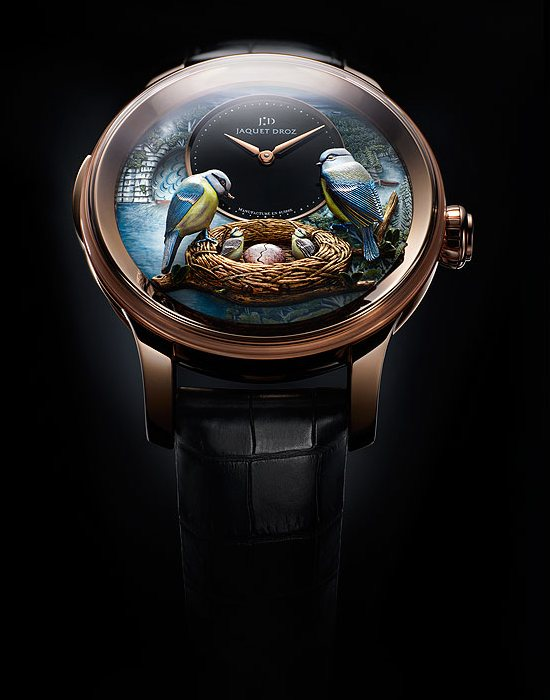 Jaquet Droz Bird Repeater Watch Front