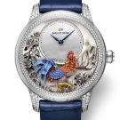 Jaquet Droz Petite Heure Minute Relief Rooster Watch J005024282