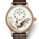 Jaquet Droz Petite Heure Minute Rooster Watch J005013216