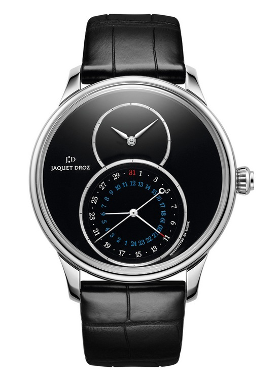 Jaquet Droz Grande Seconde Dual Time Onyx Watch