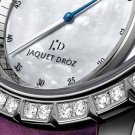 Jaquet Droz Grande Seconde SW Lady Watch Dial Detail