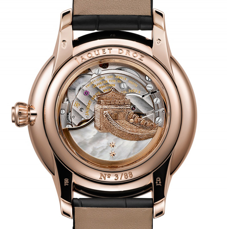 Jaquet Droz Chinese Year Of Horse J005023275 Watch Caseback