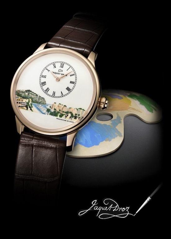 Jaquet Droz Petite Heure Minute Monaco Only Watch