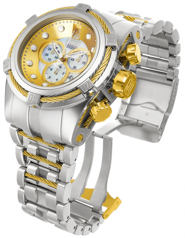Invicta Bolt Zeus Reserve Jason Taylor Limited Edition Watch 12952