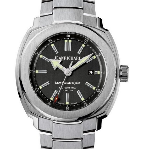 JeanRichard Terrascope Watch Front