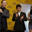 John Travolta - Breitling Navitimer Blue Sky Limited Edition Watch - Singapore Event
