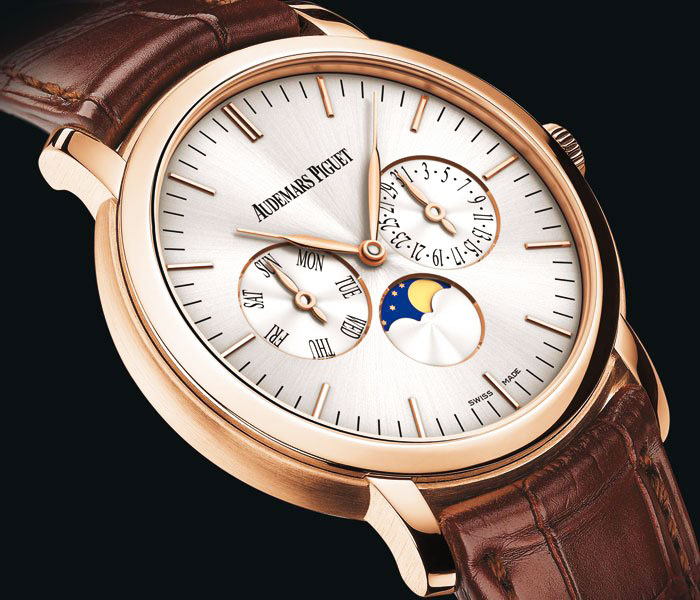 Audemars Piguet Jules Audemars Moon-phase Calendar Watch Dial
