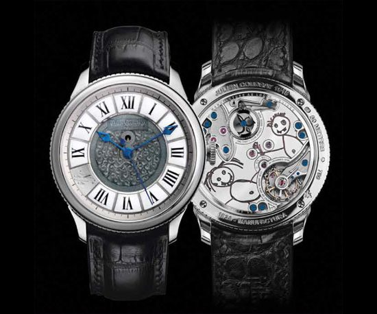 Julien Coudray 1518 'Draw Me a Happy Child' 2013 Only Watch Front and Back