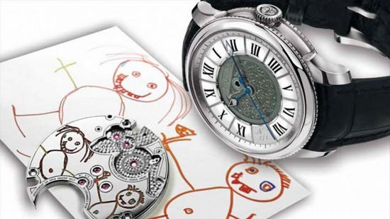Julien Coudray 1518 'Draw Me a Happy Child' 2013 Only Watch