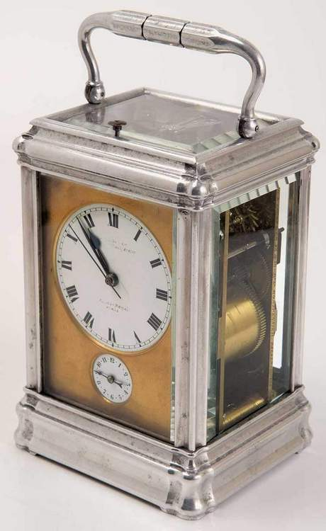 Historical Aluminium Travel Clock