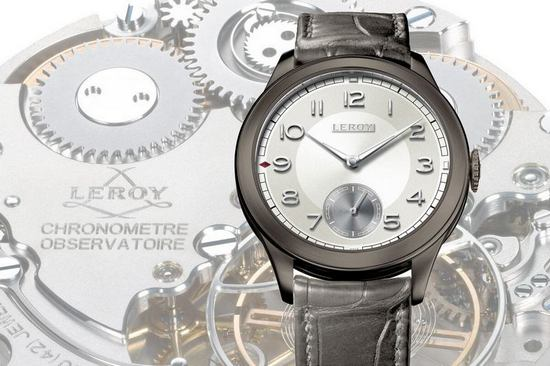 Leroy Chronomètre Observatoire 2015 Only Watch