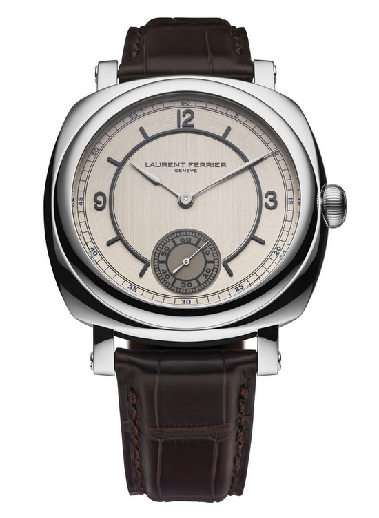 "Laurent Ferrier Galet Square Swiss FineTiming Limited Edition ""Vintage America I"" Watch Front"