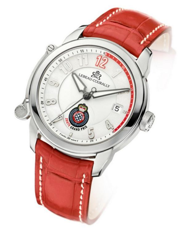 Lebeau-Courally Dauphin Zoute Watch