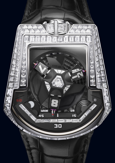 Urwerk UR-202 Baguettes Unique Watch